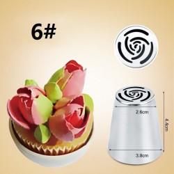 Tulip icing piping nozzles cake decoration 7 pcs