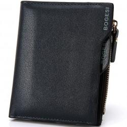Portemonnaie aus leder und scheckbuchhalter