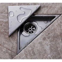 Dreieckige Wasserableitung Bodenablauf 232 * 117mm