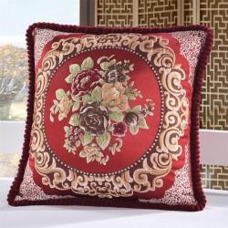 Couverture pour coussin de coton avec motiff britannique 50 * 50cm