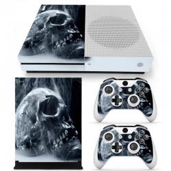 Adhesif protetif de vinyle pour Xbox One Slim S Console
