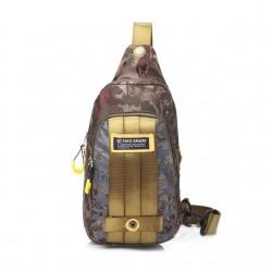 Waterproof nylon chest shoulder small bag