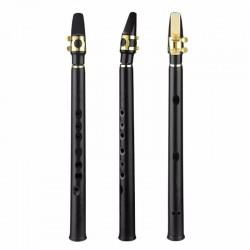 8 otworowy mini alto saksofon z ustnikiem nuta B