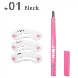 Automatic eyebrow liner pencil long lasting waterproof set