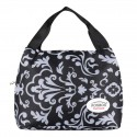 Portable thermal canvas lunch bag