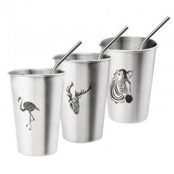 350 / 500ml Stainless steel cup mug
