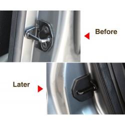 Pokrywa ochronna zamka drzwi samochodu antykorozyjna dla Ford Focus 2 2005-2013 4 szt