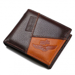 Genuine cow leather purse - wallet