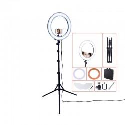 """Lumière pour photo avec tripod miroir RL-18"""" 55W 240 LED 5500K"""