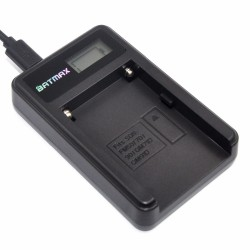 cargador baterìa NP-F960 NP-F970 NP F930 LCD para SONY