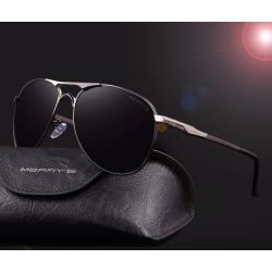 Aluminiowe spolaryzowane klasyczne okulary przeciwsłoneczne