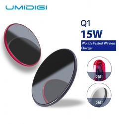 Chargeur wireless pour Samsung Galaxy S9 S8 S7 iPhone 8 / X / 8 Plus UMIDIGI Q1 15W