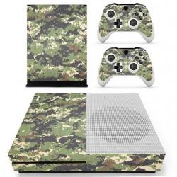 Xbox One S Console & Kontroler kamuflaż design winylowa naklejka