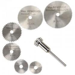 Larmes circulaires disques 6 pcs