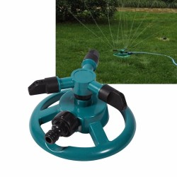 Arroseur à jardin rotatif à 360 dègrès.