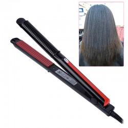 Elektryczna prostownica do włosów z regulacją temperatury faliste żelazko