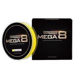 Mega8 super strong 274M 8 strands weaves PE braided fishing line rope multifilament