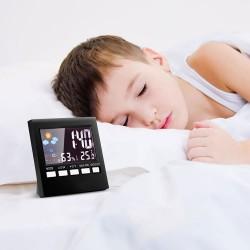 LCD cyfrowy budzik z podświetleniem