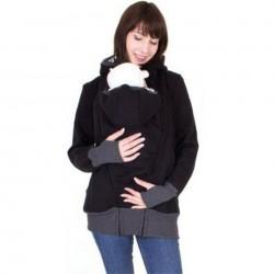 Kangaroo Hoodie Jacket Babytrage mit Kapuze