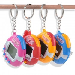 Virtual cyber pet electronic toy keychain keyring