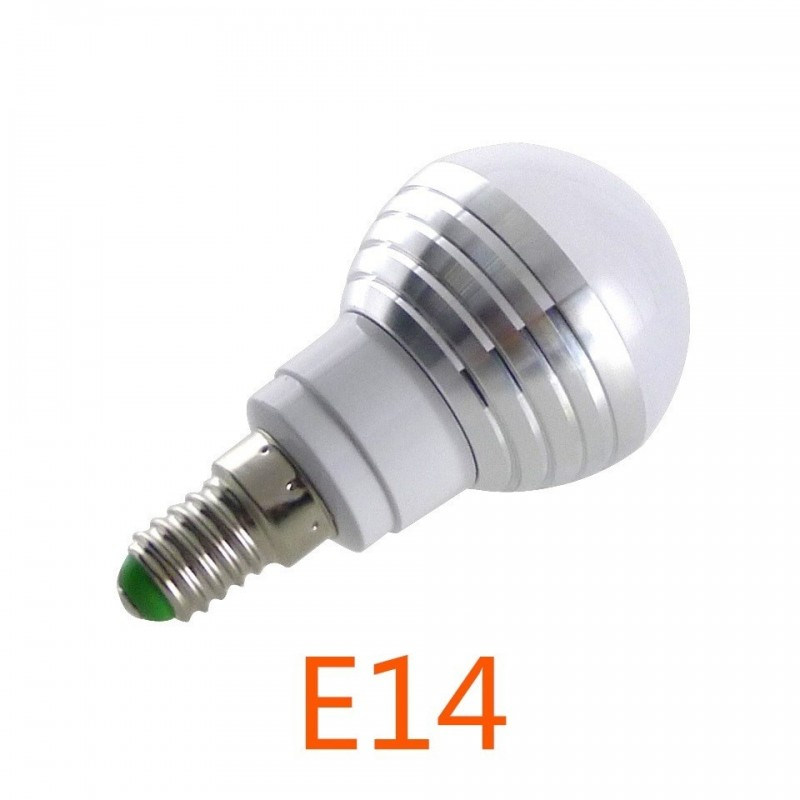 e14 e27 rgb led lamp 3 w 16 kleur verwisselbare lamp led spotlight ir afstandsbediening