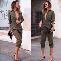 Women's casual jumpsuit