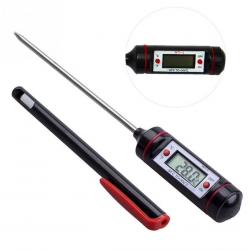 Cyfrowy termometr do żywności & pieczenia ze stali nierdzewnej