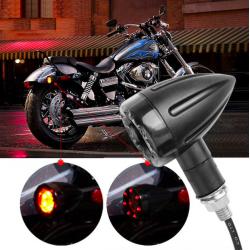 Lumières indicateurs de direction pour moto LED 2 pcs