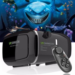 Occhiali + smart gamepad VR virtual reality 3D Shinecon Pro
