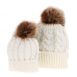 Cappello in cotone mamma e bambino 2 pcs
