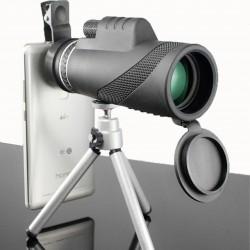Téléscope mono oculaire fort avec vision nocturne 40 x 60 HD