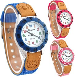 Children kids quartz watch