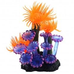 Akwariowy miękki sztuczny żywiczny koral