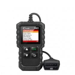 X431- 3001 codes de lecture OBD2 OBDII complets - balayage de diagnostic de voiture