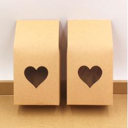 Brązowy papier pakowy torebki pudełka 50 szt