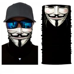Motocyklowy szalik maska na twarz kominiarka