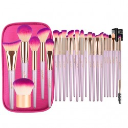 Professional makeup brush set with zipper case bag 26 pcs