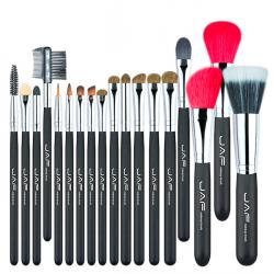 Professionelles Make-up-Pinselset aus superweichem Naturhaar 18-tlg