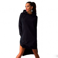 Women's hooded sweatshirt pullover