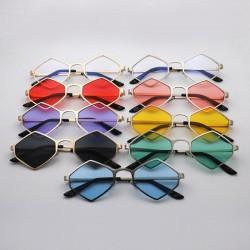 Metalowa rama vintage steampunk okulary przeciwsłoneczne