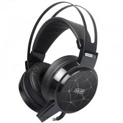 C13 LED zestaw słuchawkowy do gier słuchawki z mikrofonem & led