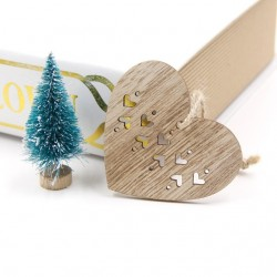 Decorations pendentives arbre de Noel 6 pcs