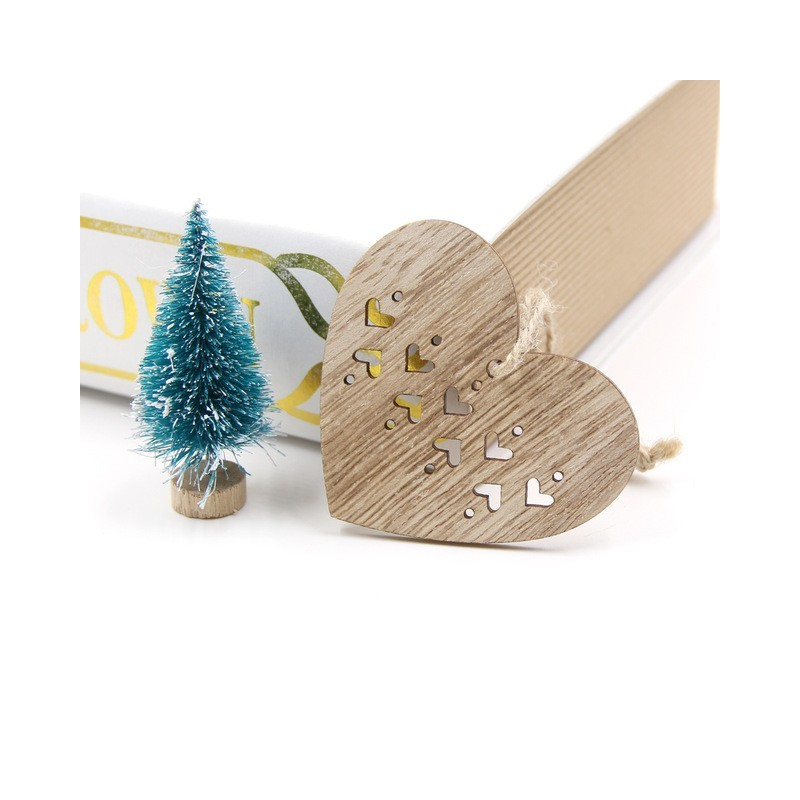 Xmas Deko Weihnachtsbaum.Weihnachtsbaum Xmas Dekoration Holzanhänger 6 Stück Store Aruba