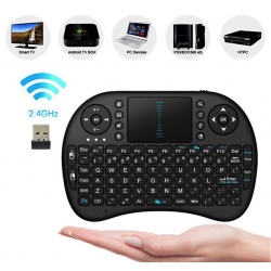 Android TV Box- PC - PS4 Bluetooth keyboard touchpad Klawiatura