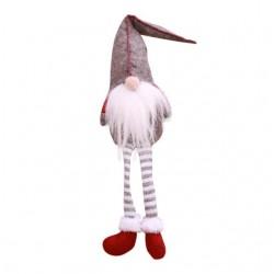 Elfo gambe lunghe decorativo di Natale 50cm