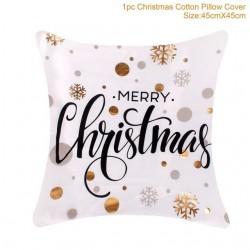 Housse coussin de Noel de coton 45 * 45 cm