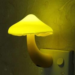 Grzyb LED nocna lampka do gniazdka