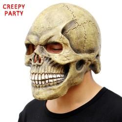 Czaszka cała głowa maska na halloween