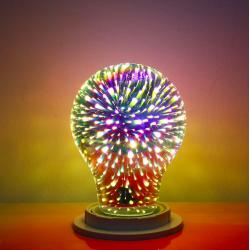 Ampoule A60 G95 G125 4W E27 3D LED