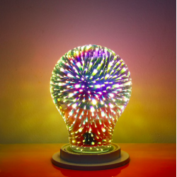 Lampadina A60 G95 G125 4W E27 3D LED